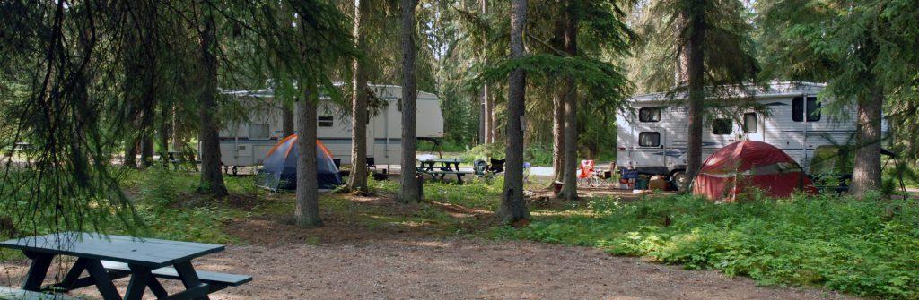 campground in valemount